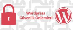 wordpress güvenlik önlemleri