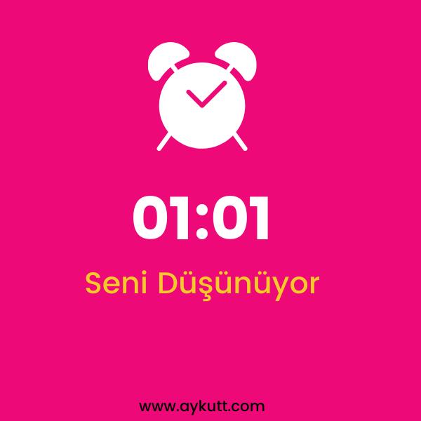 01:01 Saat Anlamı