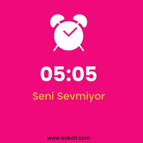 05:05 Saat Anlamı