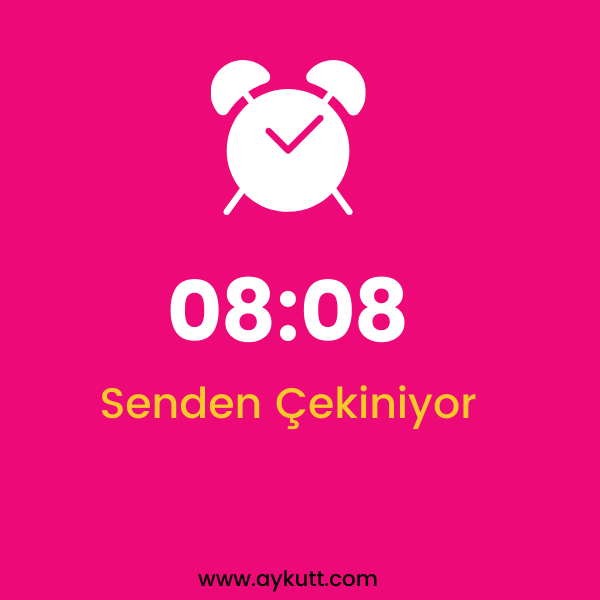 08:08 Saat Anlamı