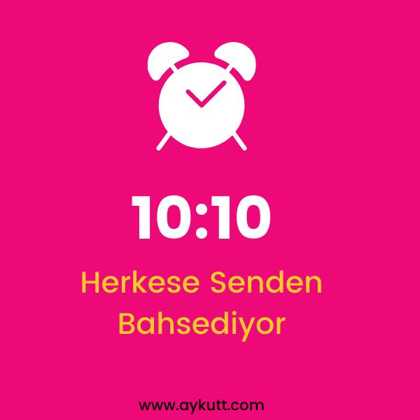 10:10 Saat Anlamı