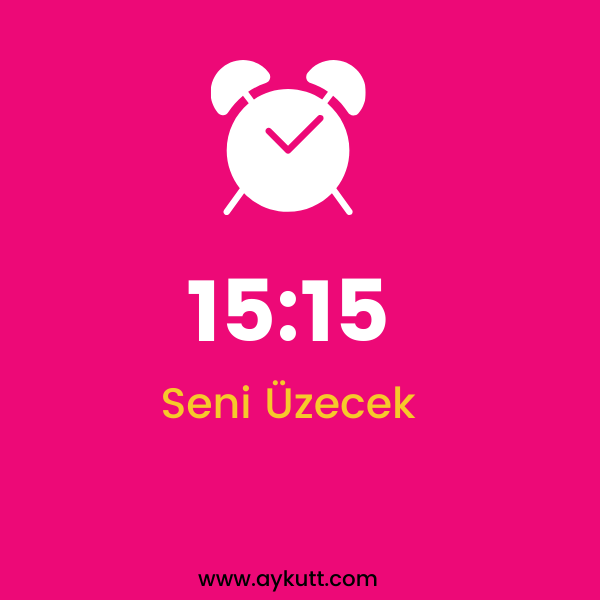 15:15 Saat Anlamı