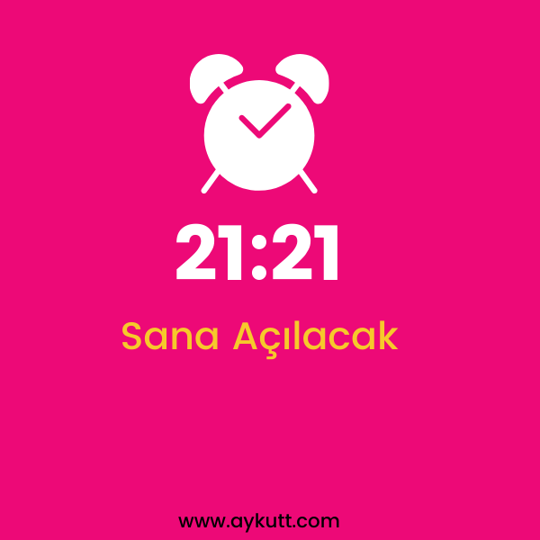 21:21 Saat Anlamı