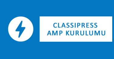 classipress-amp-kurulumu
